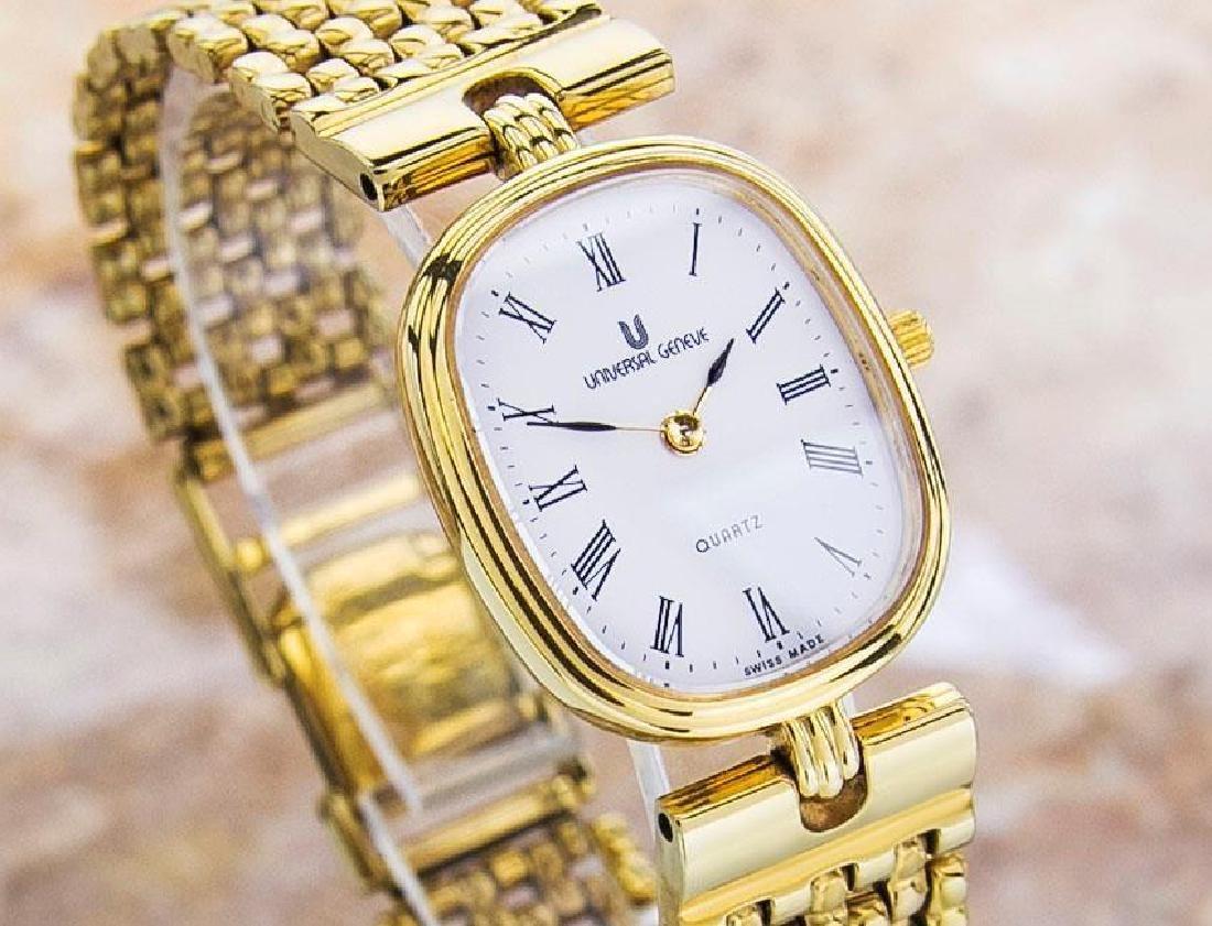 Universal Geneve Swiss Made Ladies Gold Plated Original - 3
