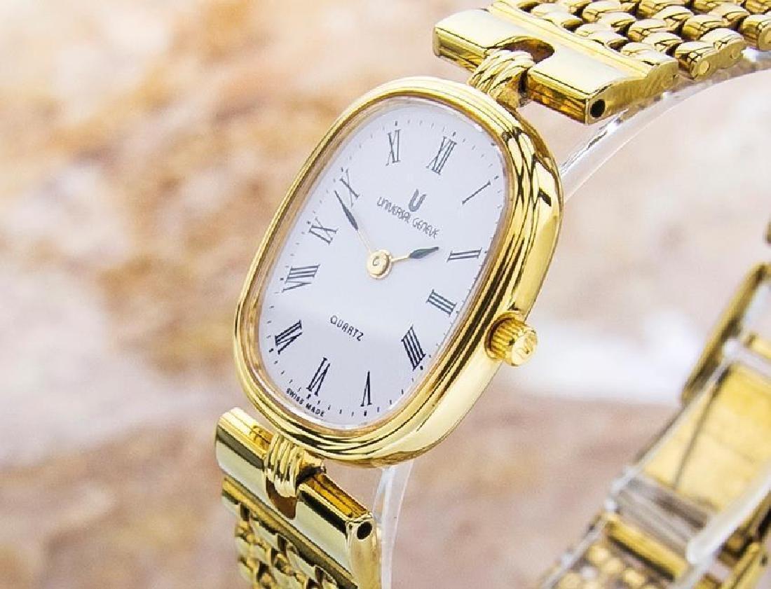 Universal Geneve Swiss Made Ladies Gold Plated Original - 4