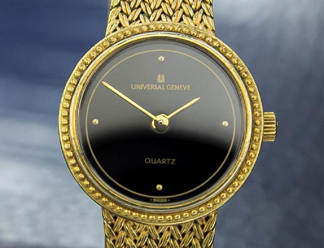 Universal Geneve Gold Plated Swiss Made Ladies Quartz