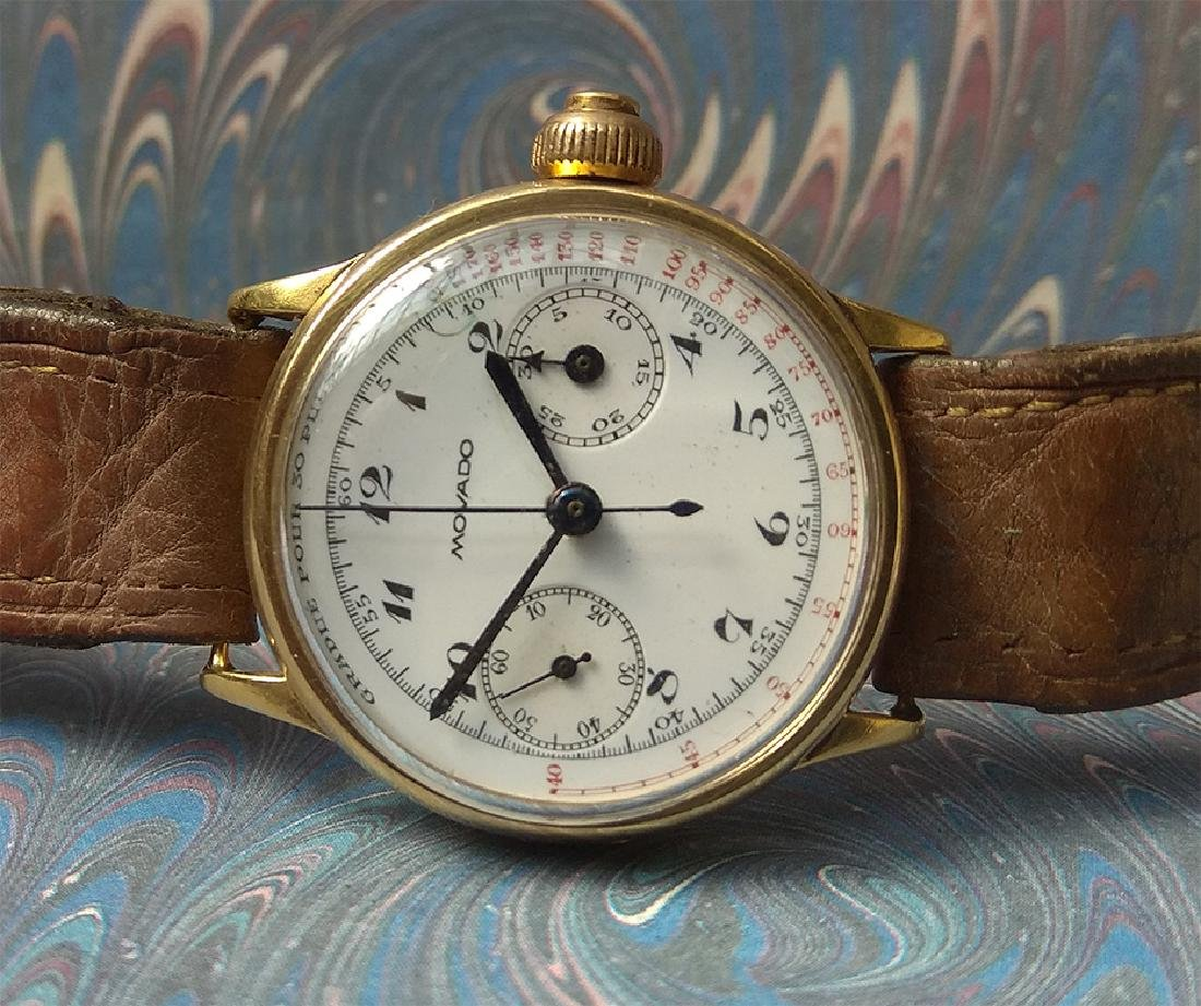 Extremely Rare - Movado 159 Vintage Watch (1930s) - 3