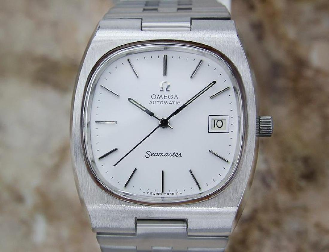 Omega Seamaster Men's 1960s Vintage Automatic Stainless