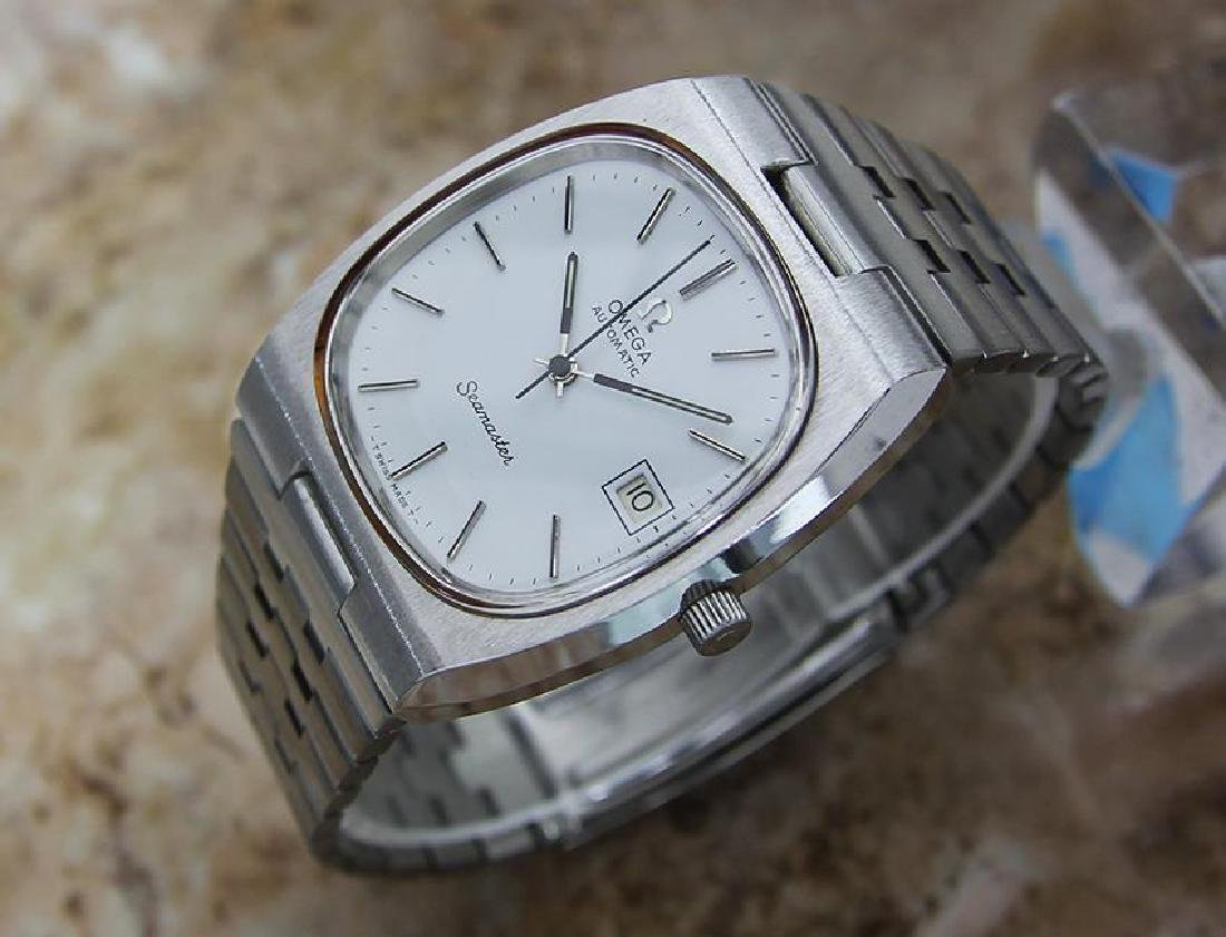 Omega Seamaster Men's 1960s Vintage Automatic Stainless - 2