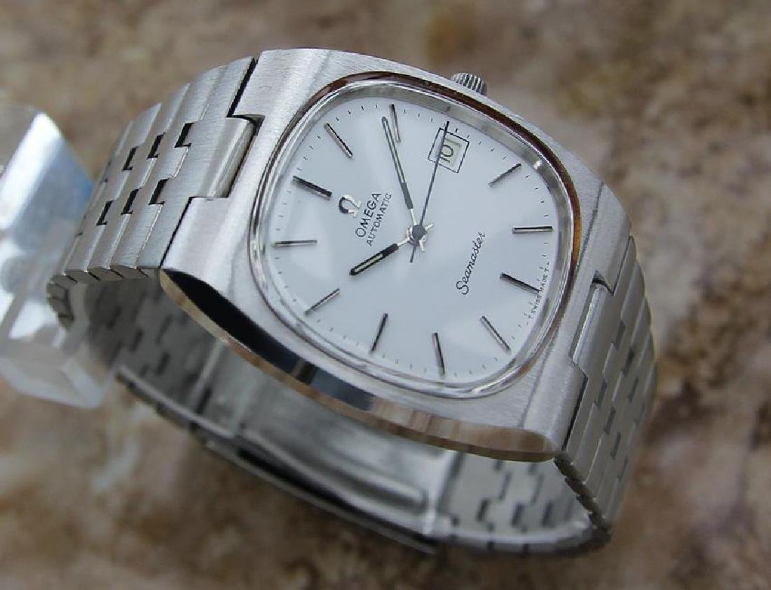Omega Seamaster Men's 1960s Vintage Automatic Stainless - 3