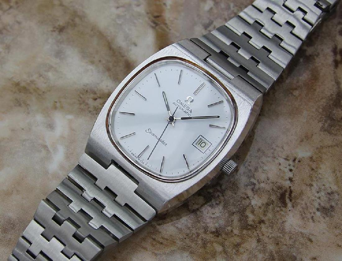 Omega Seamaster Men's 1960s Vintage Automatic Stainless - 7