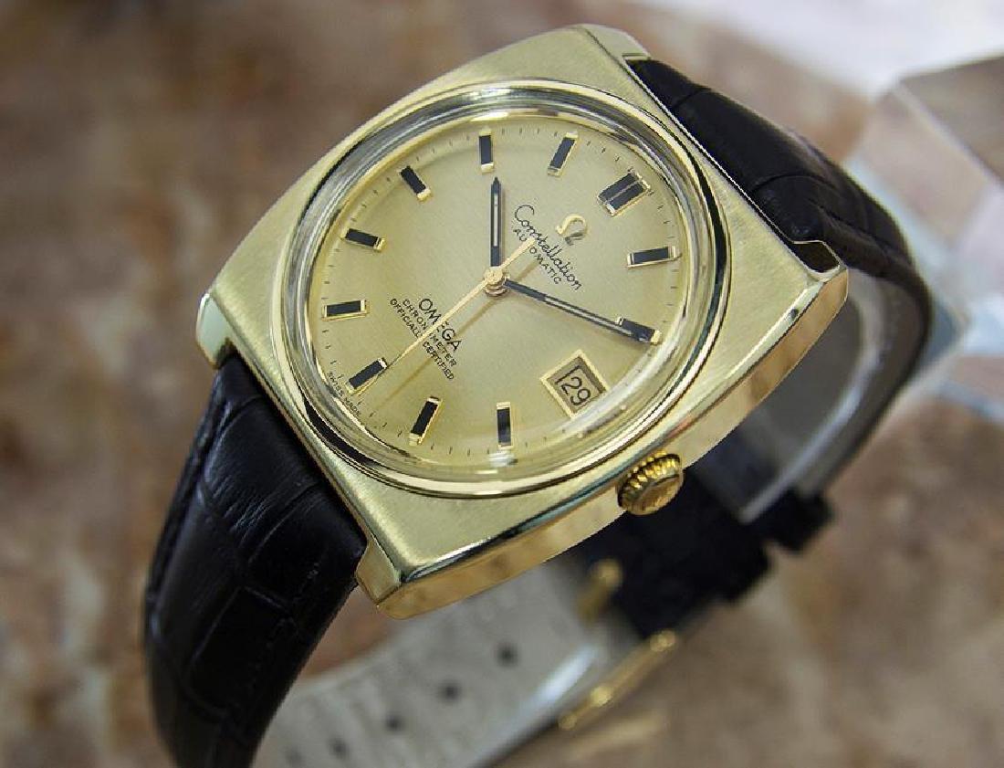 Omega Constellation Cal 1001 Gold Cap Gold Bezel 1970s - 2