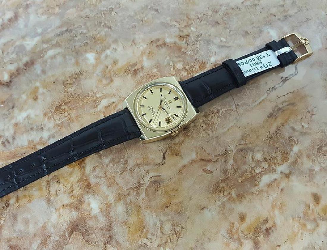 Omega Constellation Cal 1001 Gold Cap Gold Bezel 1970s - 4