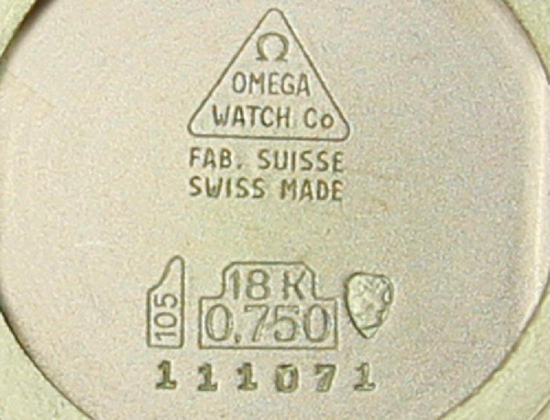 Omega 18k Rose Gold Manual Calibre 620 Vintage 1960s - 8