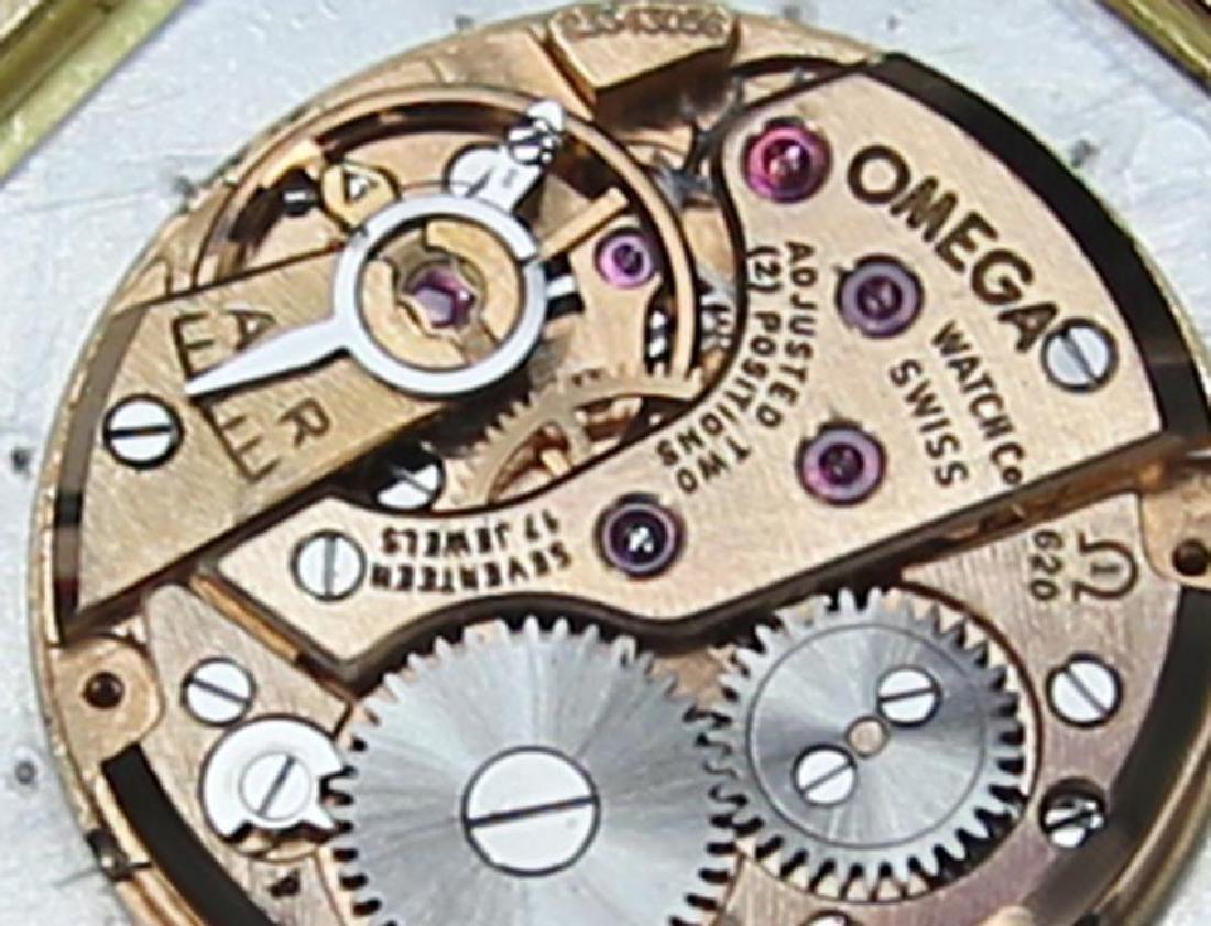 Omega 18k Rose Gold Manual Calibre 620 Vintage 1960s - 9