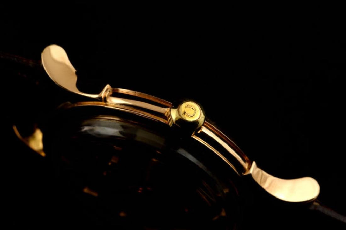 Omega Constellation Rose Gold 18k Pie Pan Dial from a - 5