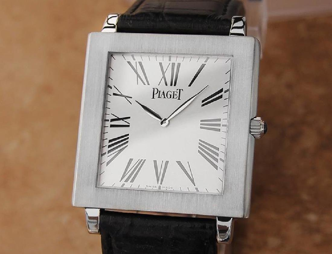 Piaget Protocole Manual 33mm Solid 18k White Gold