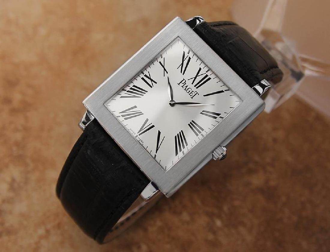 Piaget Protocole Manual 33mm Solid 18k White Gold - 2