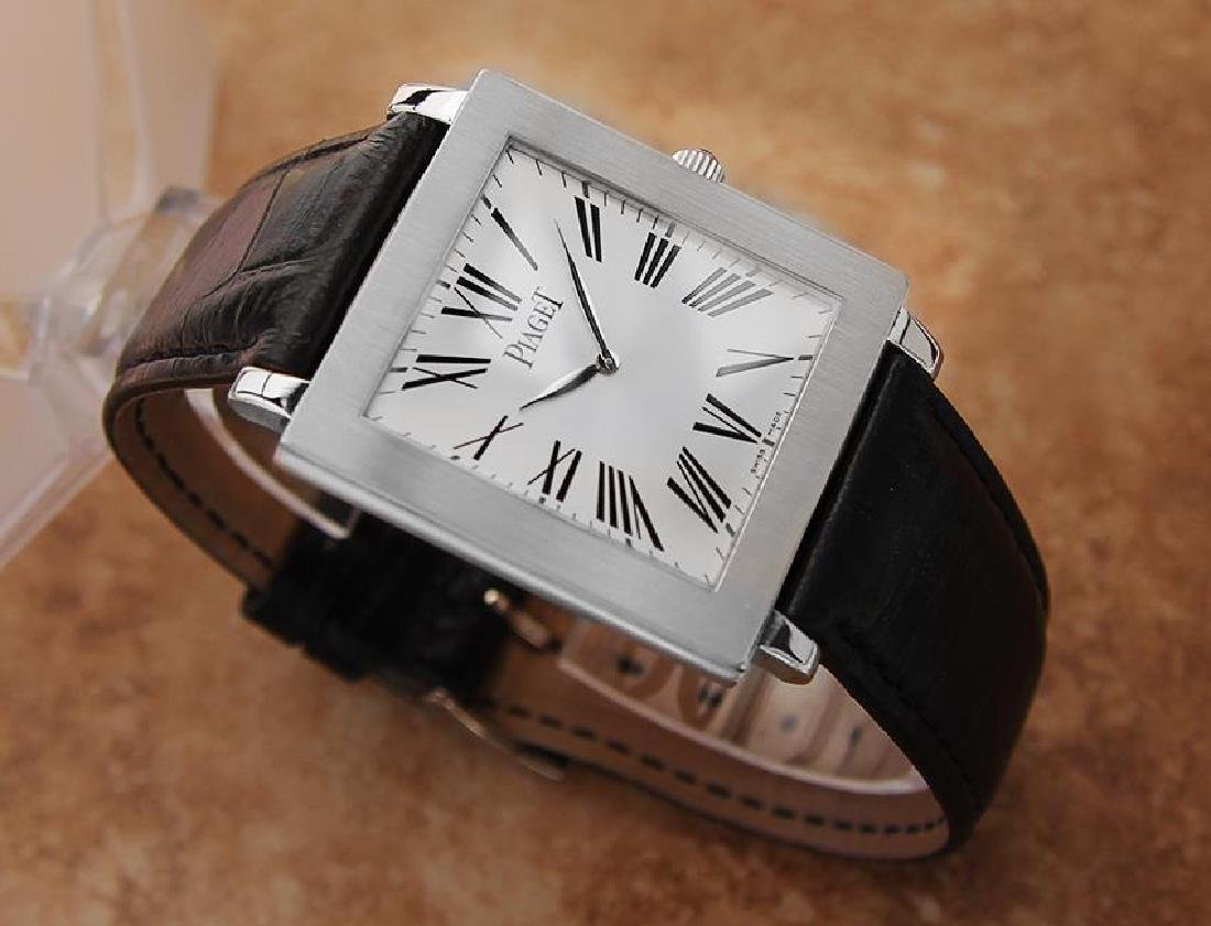 Piaget Protocole Manual 33mm Solid 18k White Gold - 3