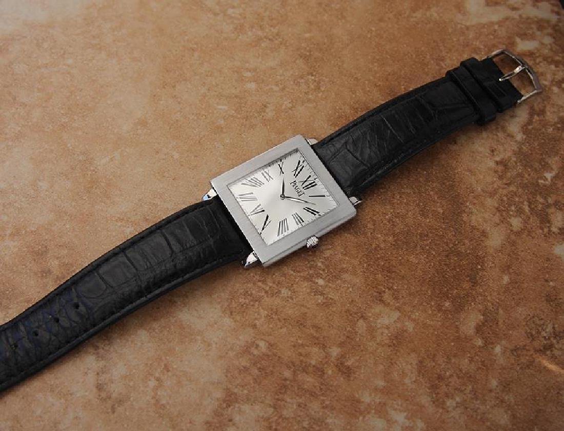 Piaget Protocole Manual 33mm Solid 18k White Gold - 5