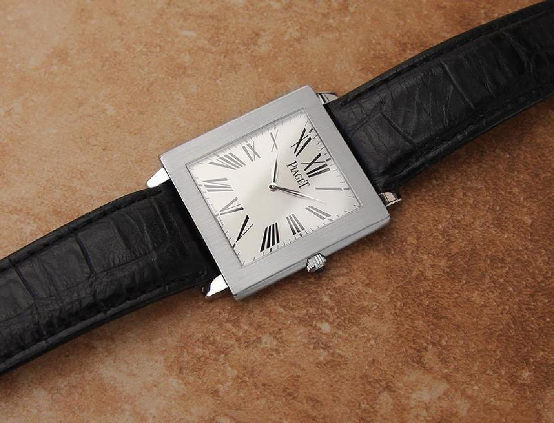 Piaget Protocole Manual 33mm Solid 18k White Gold - 6