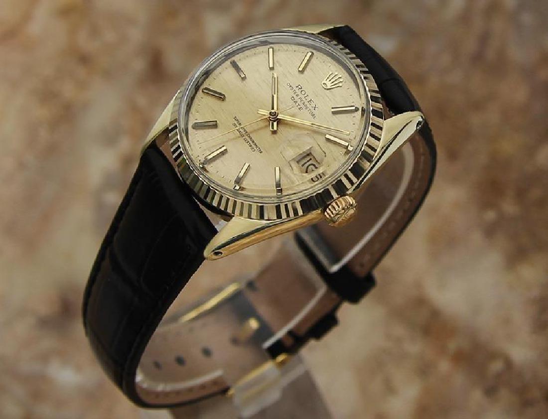 Rolex 1550 Swiss Made Men's 34mm 1970 Ser 3125351 - 2