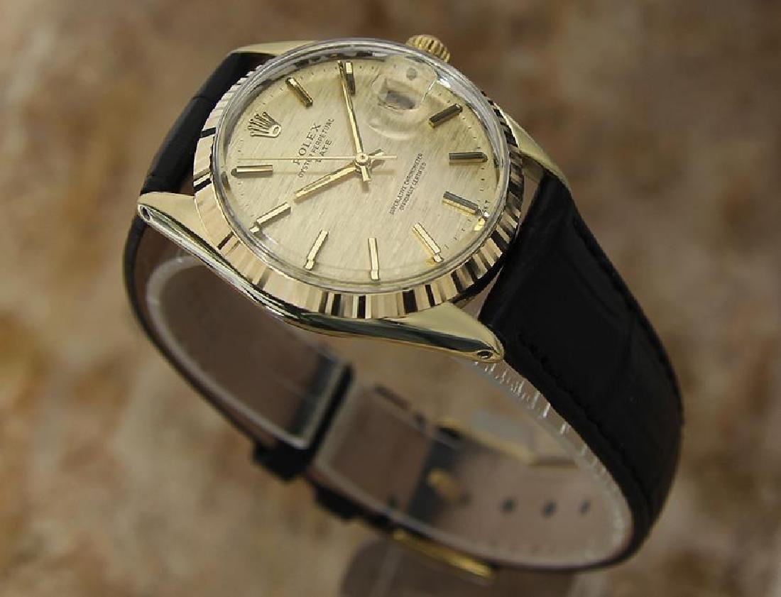 Rolex 1550 Swiss Made Men's 34mm 1970 Ser 3125351 - 3
