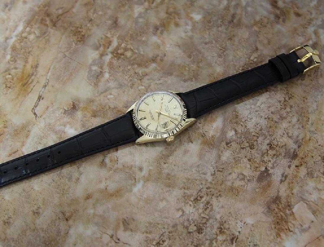 Rolex 1550 Swiss Made Men's 34mm 1970 Ser 3125351 - 5