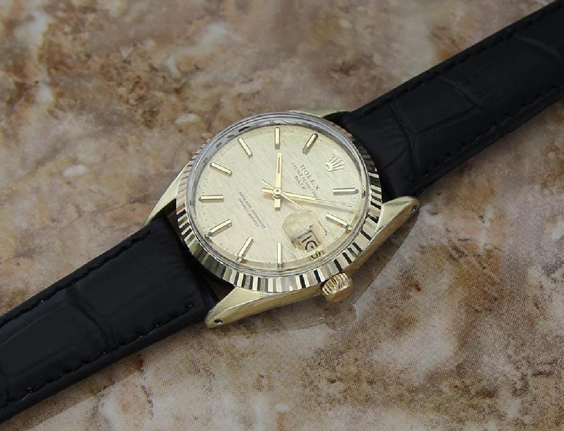 Rolex 1550 Swiss Made Men's 34mm 1970 Ser 3125351 - 6