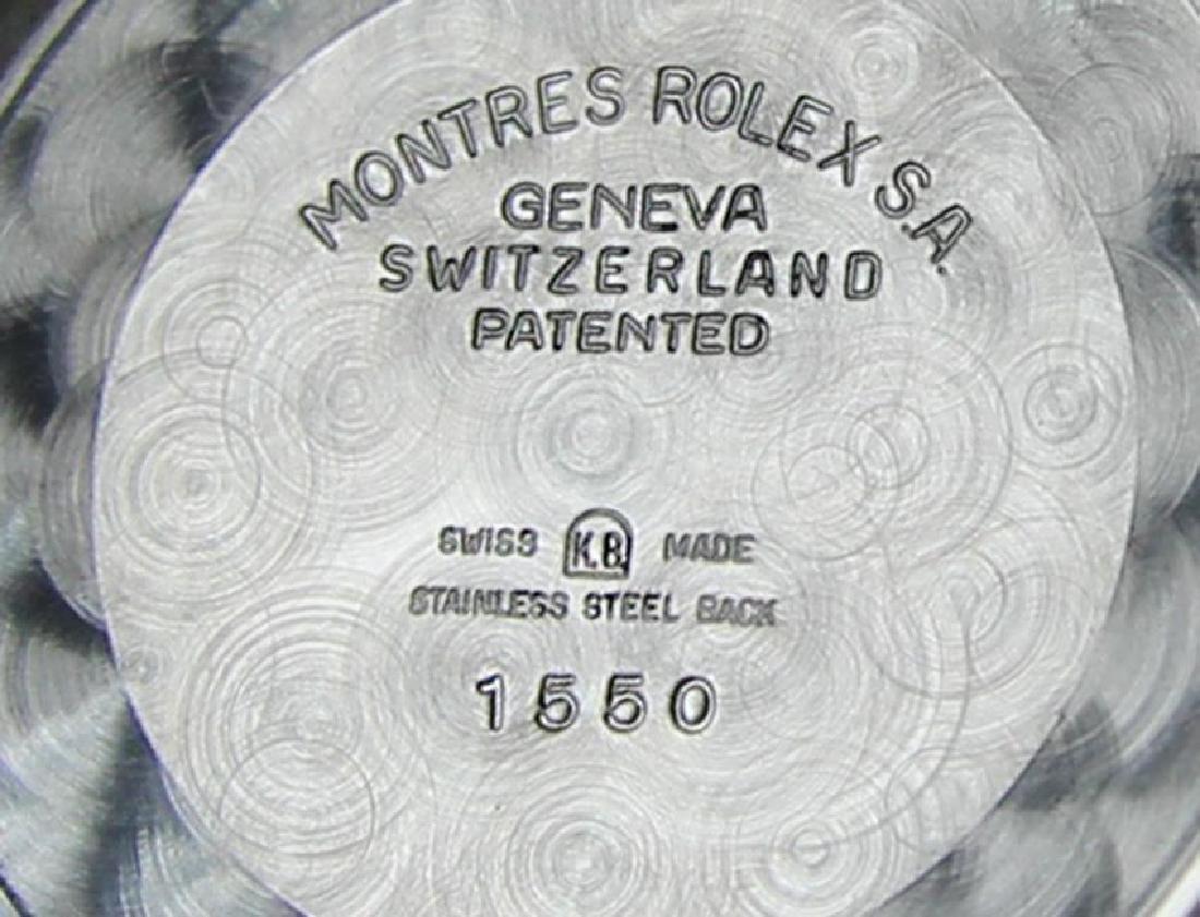 Rolex 1550 Swiss Made Men's 34mm 1970 Ser 3125351 - 8