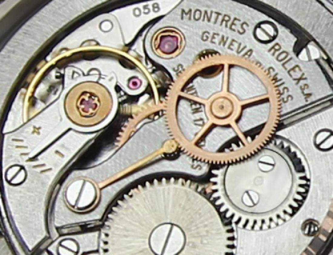 Vintage Rolex Oysterdate Mens 6694 Manual Swiss Ser - 9