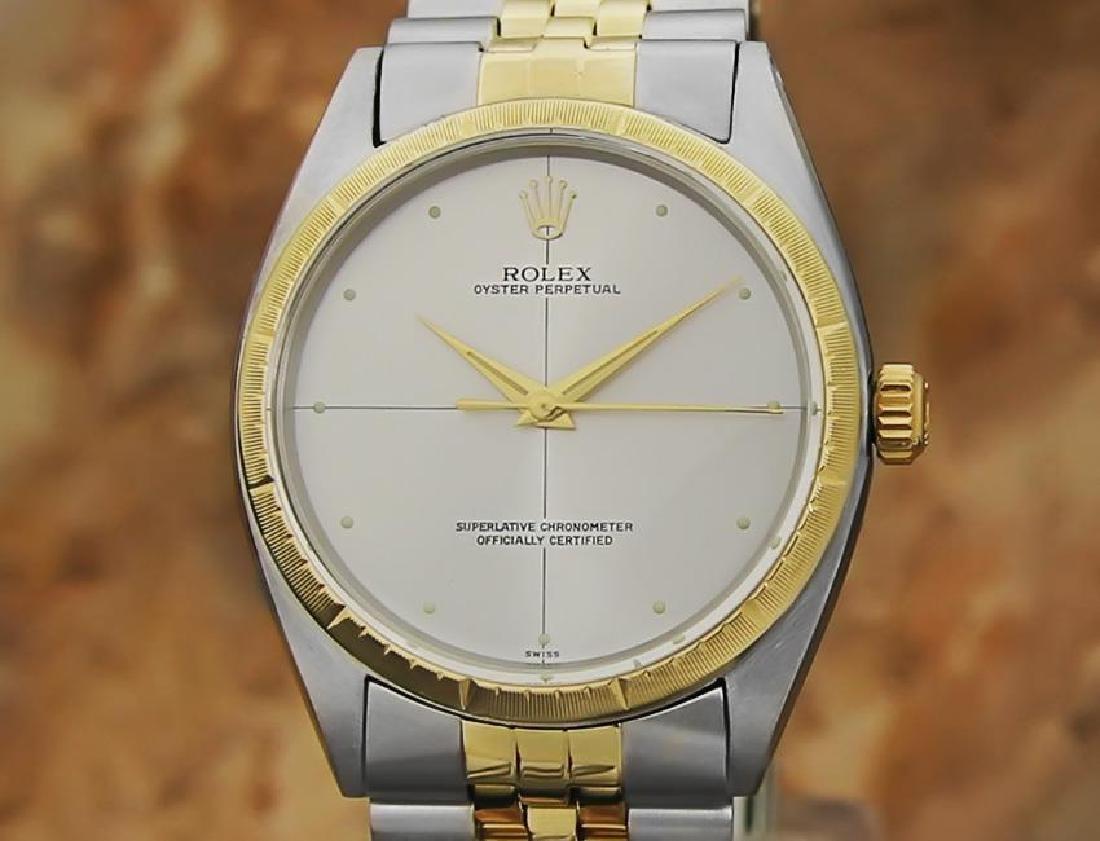 Rolex 1008 Swiss Made 14k Gold and SS ser 1773448 Men's