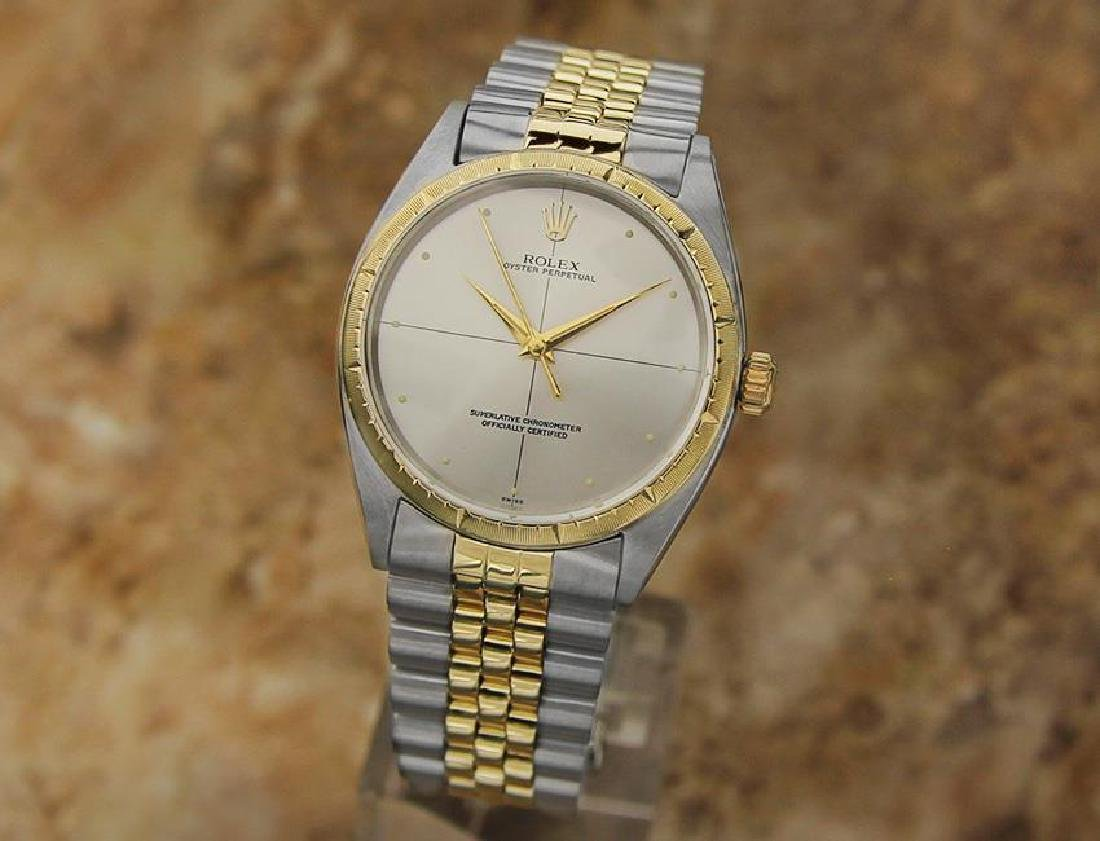 Rolex 1008 Swiss Made 14k Gold and SS ser 1773448 Men's - 2