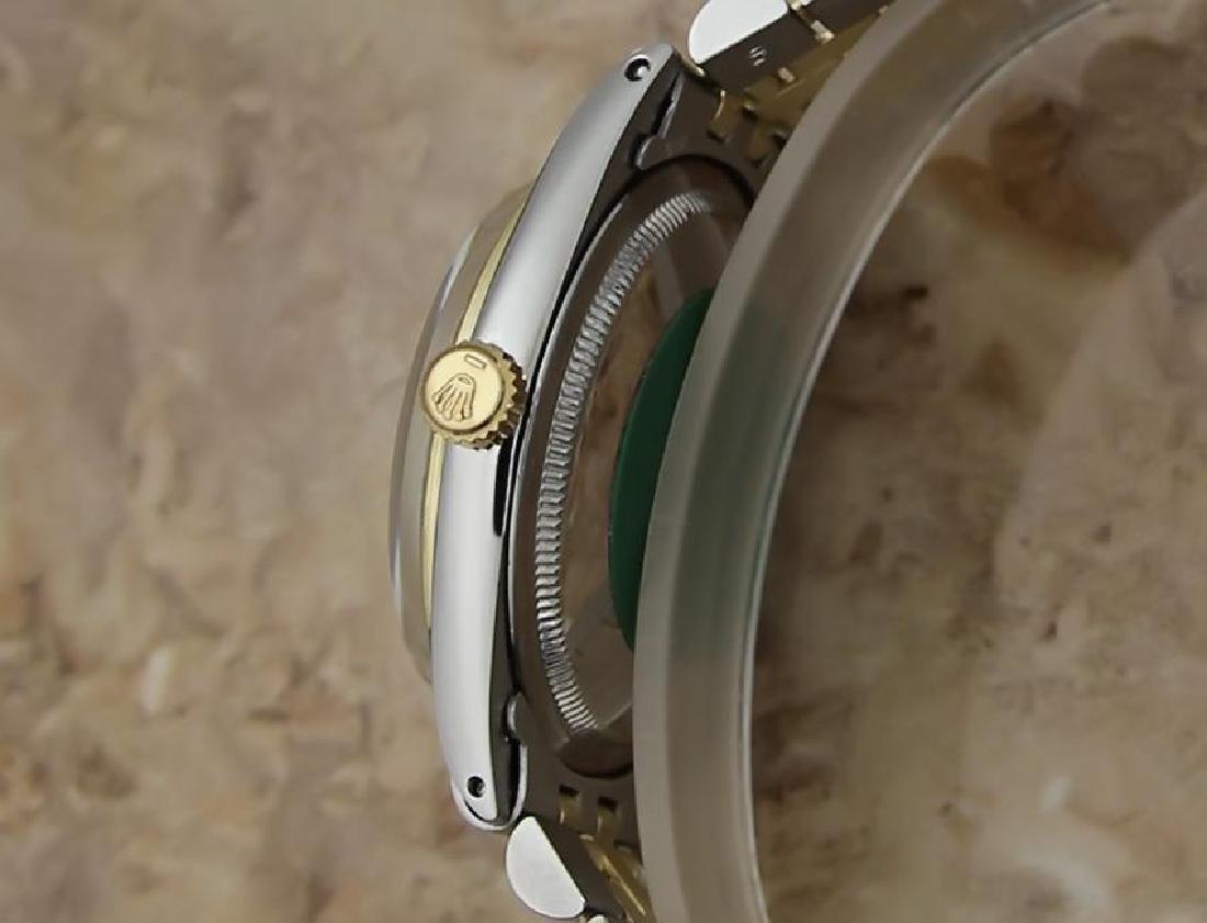 Rolex 1008 Swiss Made 14k Gold and SS ser 1773448 Men's - 3
