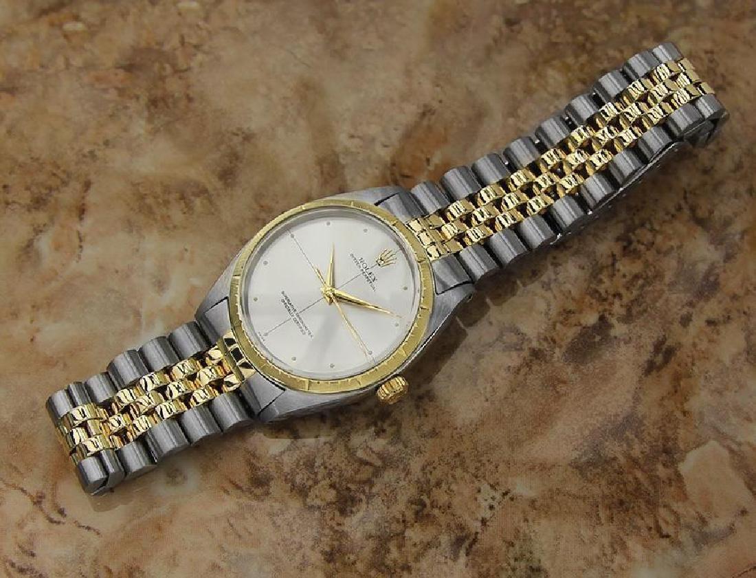 Rolex 1008 Swiss Made 14k Gold and SS ser 1773448 Men's - 4