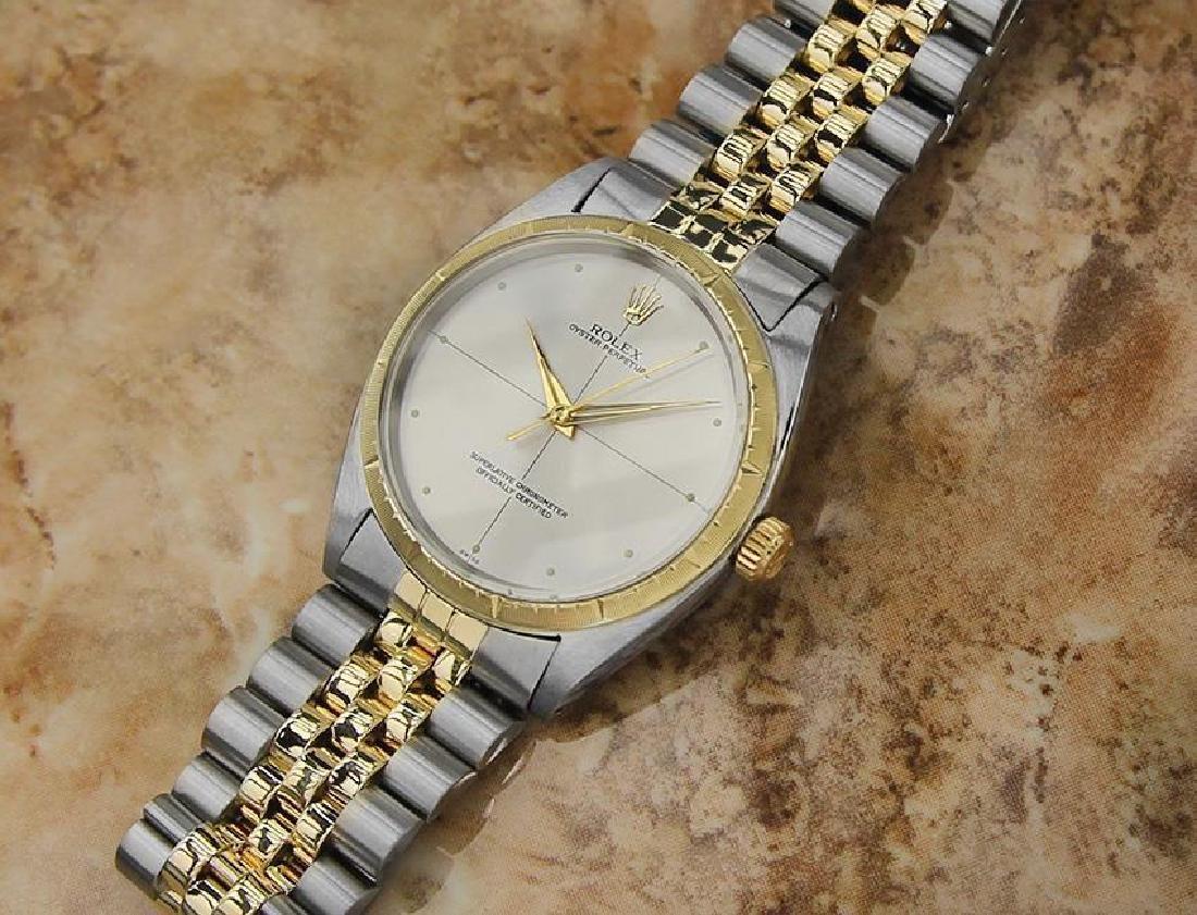 Rolex 1008 Swiss Made 14k Gold and SS ser 1773448 Men's - 5