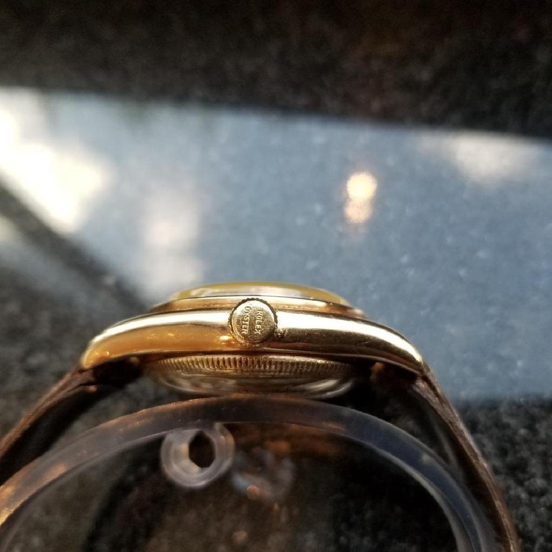 Rolex Signed Billy Graham to Lee Fisher 1950 Solid Gold - 7