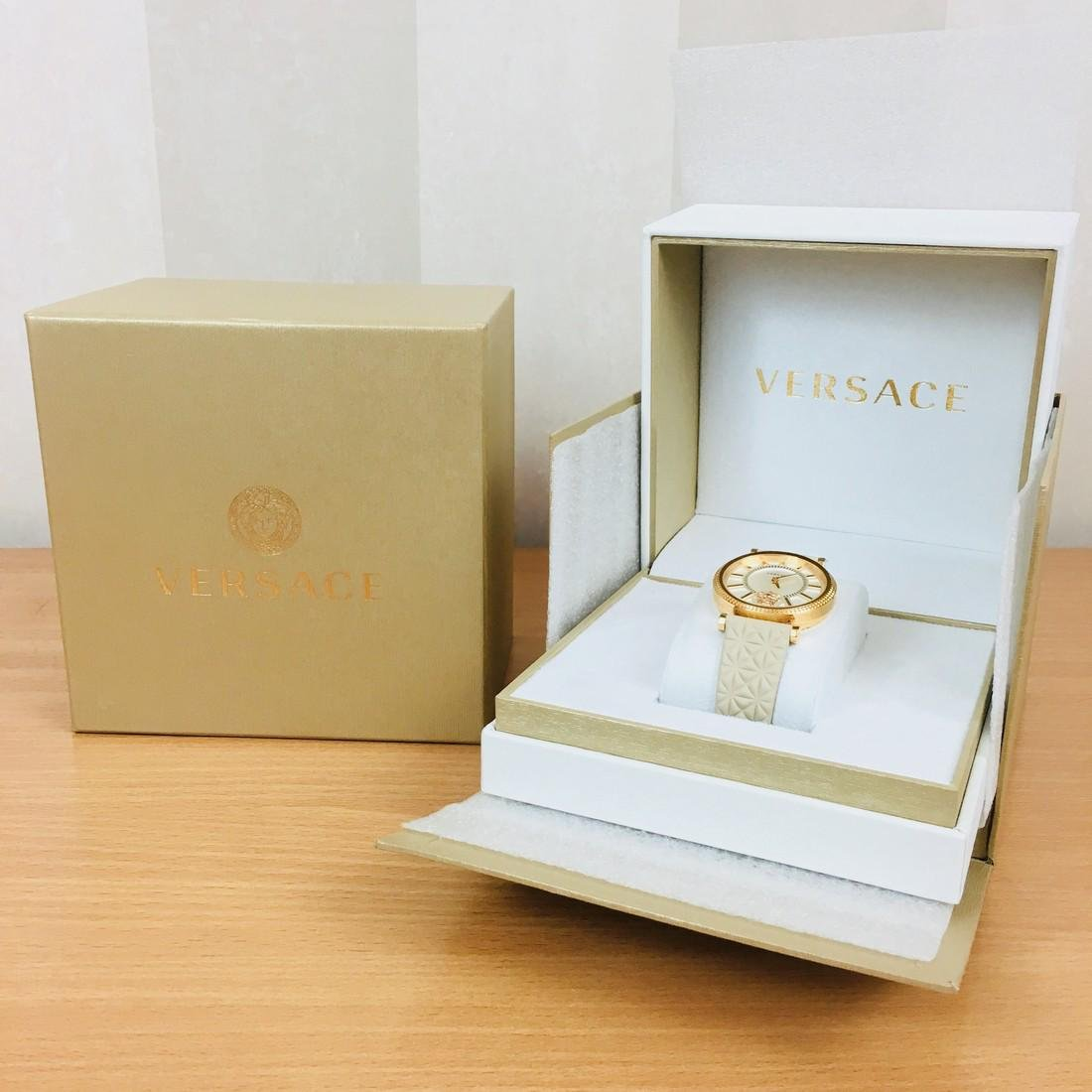 VERSACE V-HELIX Swiss Made Ladies Luxury Watch - 10