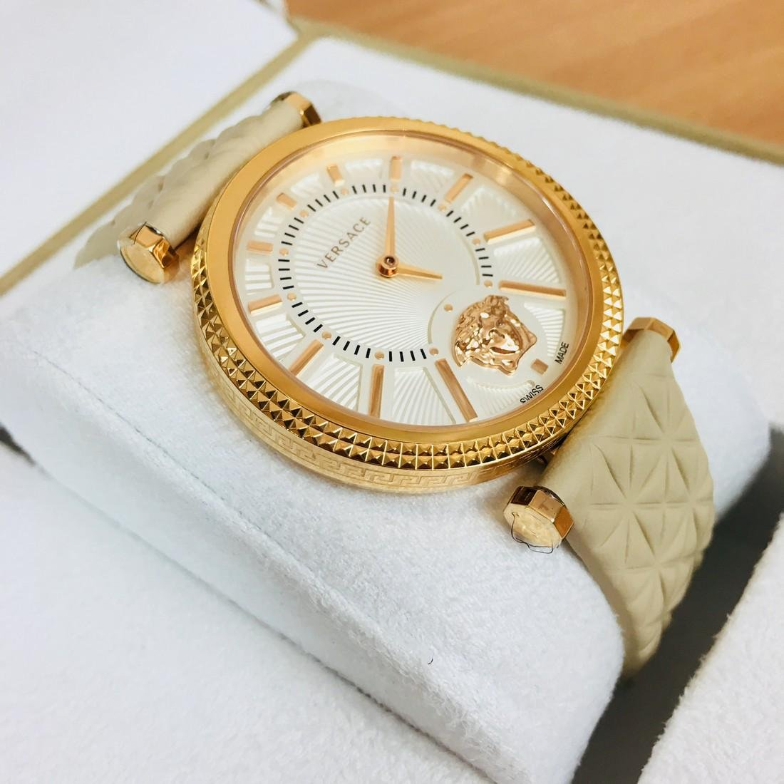 VERSACE V-HELIX Swiss Made Ladies Luxury Watch - 4