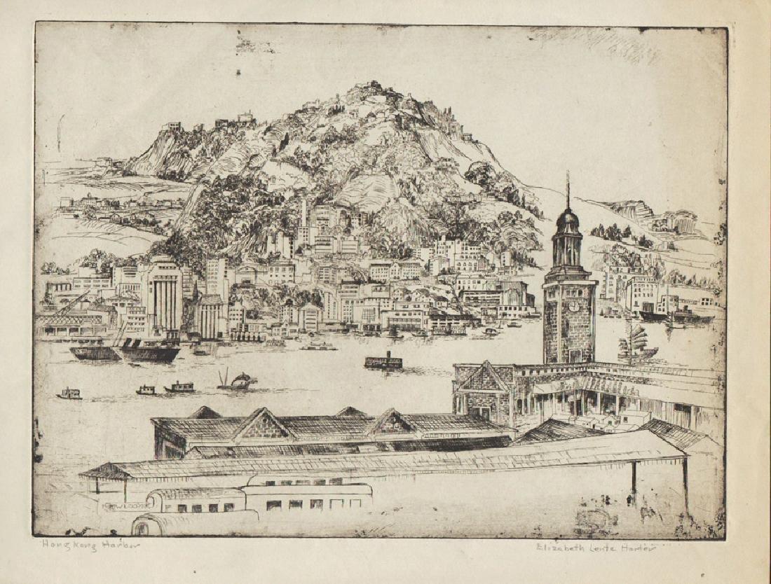 Elizabeth Lentz Horter Hong Kong Harbor