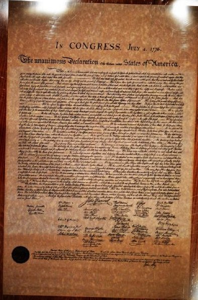 1902 John Hay Copy of the Declaration of Independence