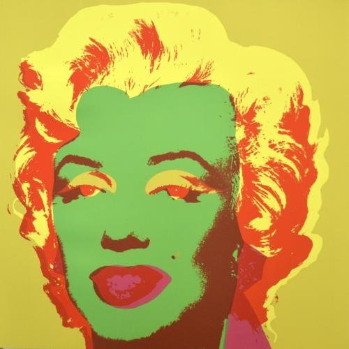 Marilyn Monroe Andy WARHOL Edition Sunday B Morning