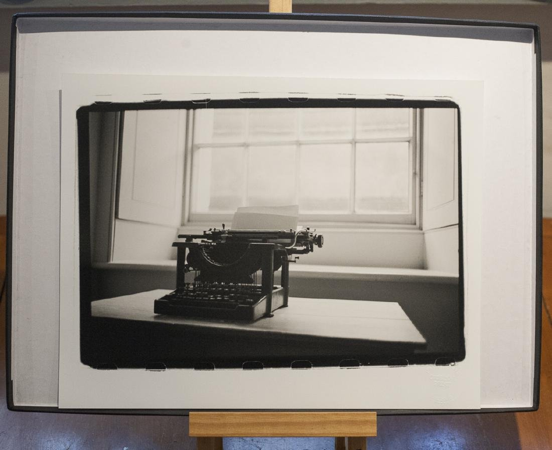 Paul Cooklin (1971-) AP Typewriter Ickworth Hall