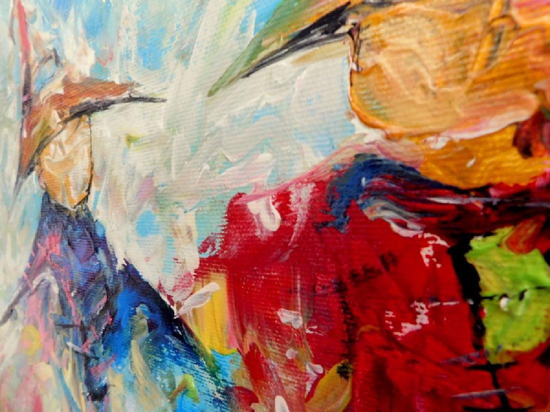 Piotr Piskorz Dancing Michaels Painting - 4
