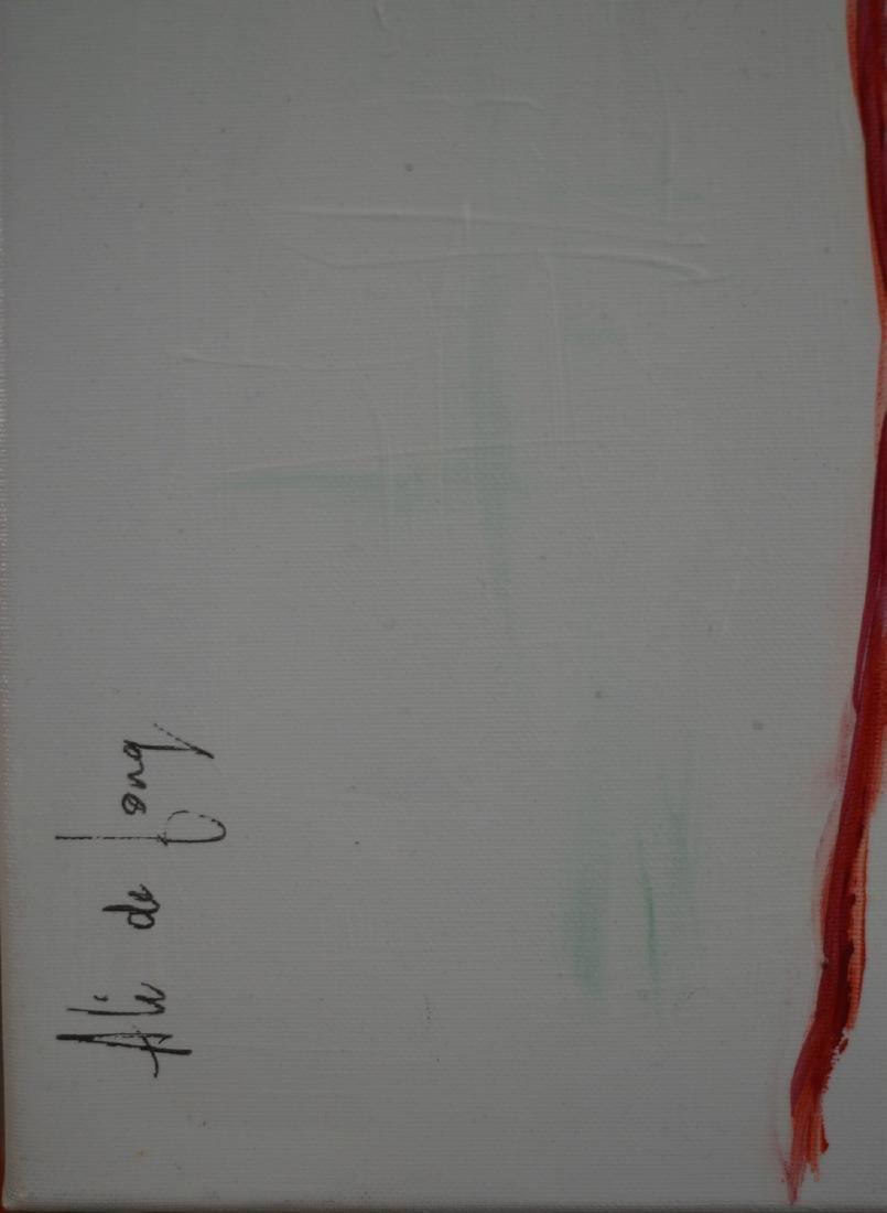 Meisje met rood haar II Signed Painting - 2