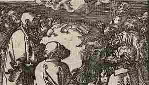 Albrecht Durer Woodcut Ascension Day