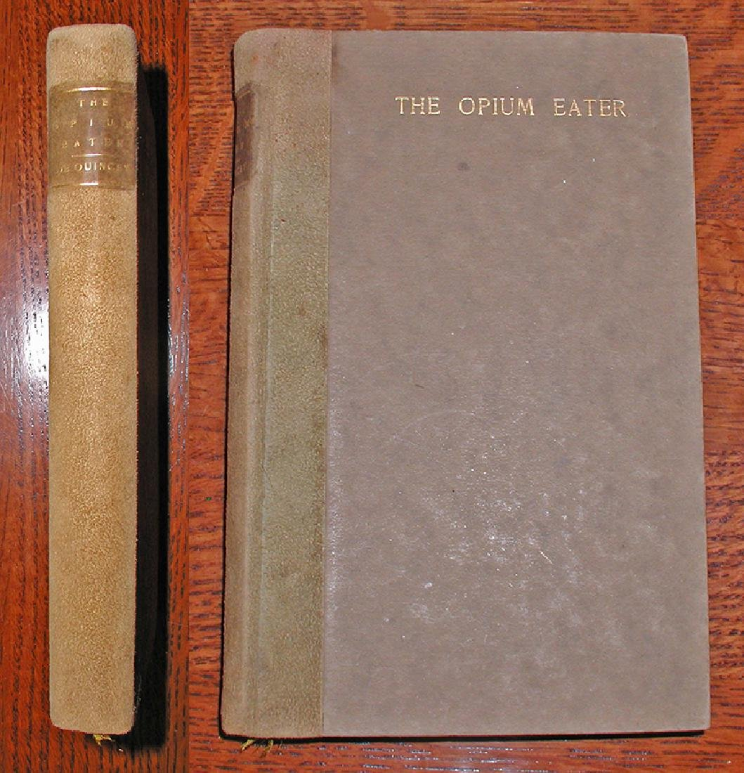 1898 Signed/numbered Ltd. Ed. Confessions Opium Eater
