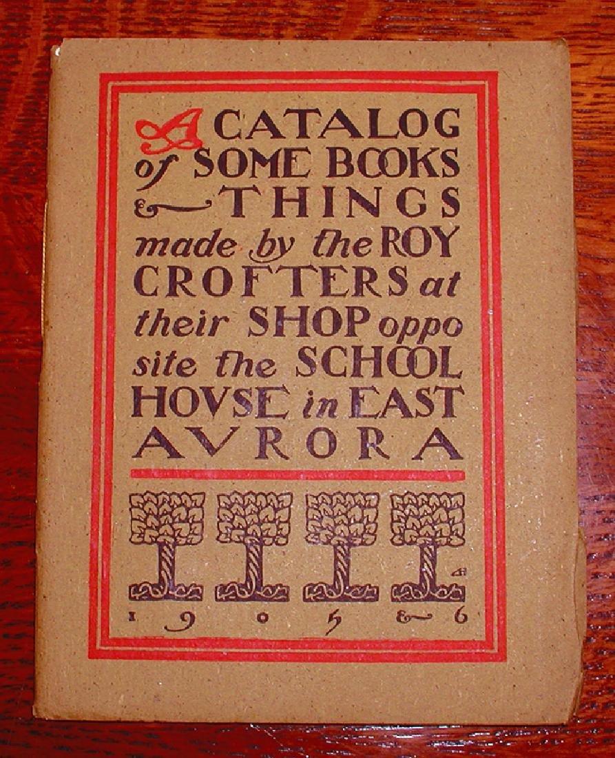Original Roycroft Catalog, 1905-06