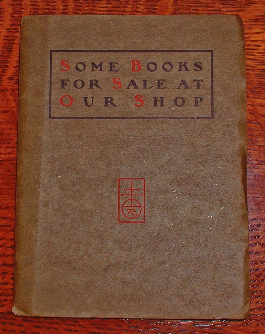Early Original Roycroft Books Catalog, 1902