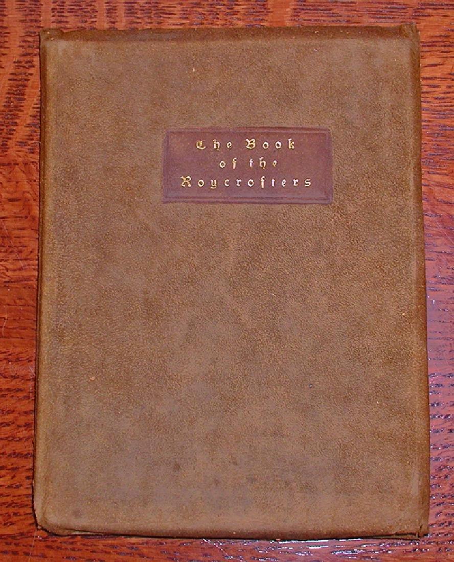 Early Original Roycroft Book Catalog, C1900