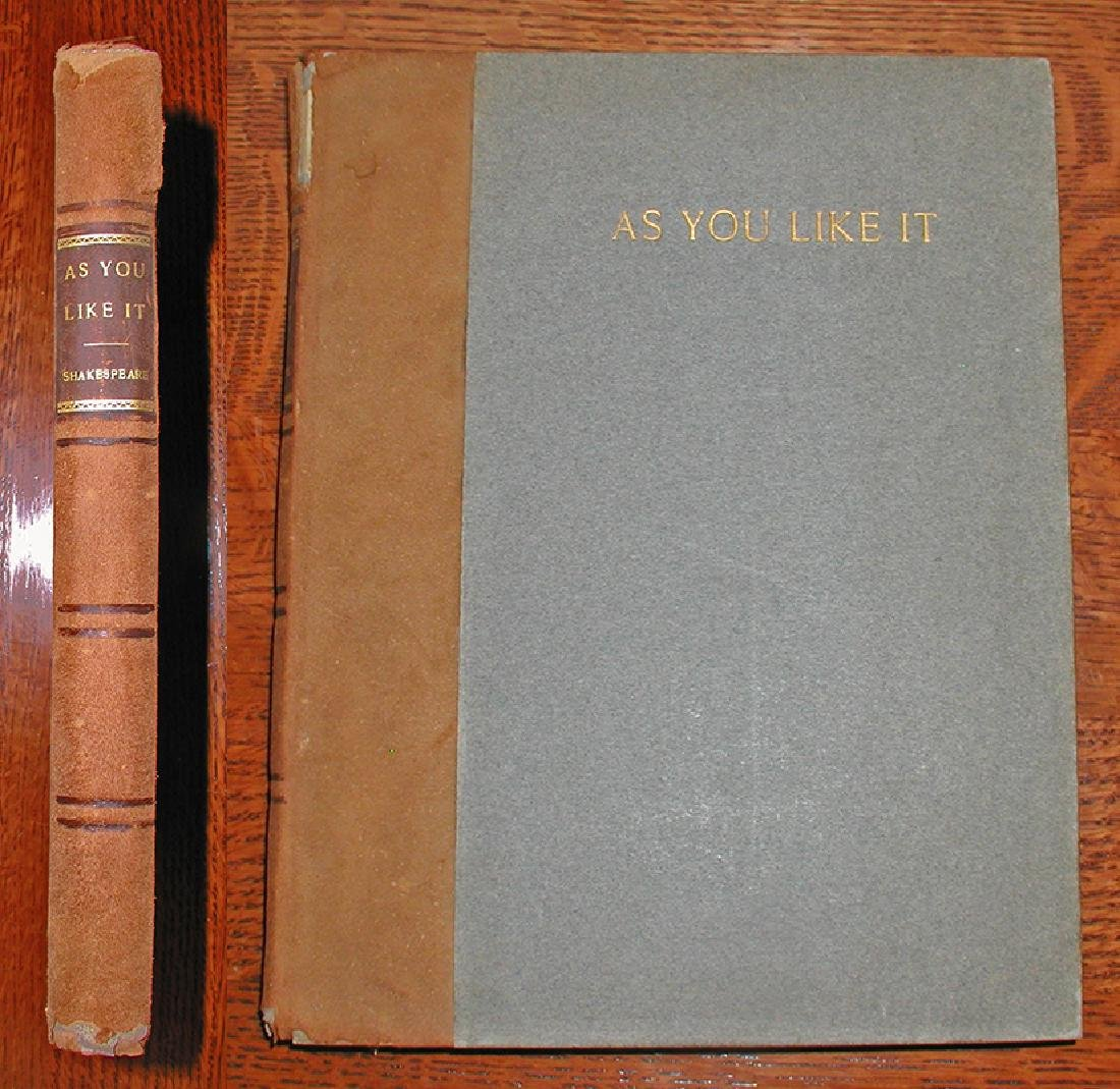 As You Like it by Shakespeare, 1903 (large Format)