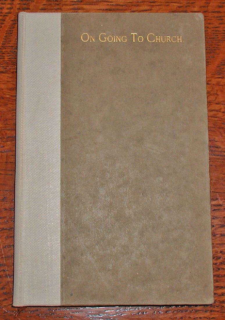 1896 Roycroft Book (first Year in Business)
