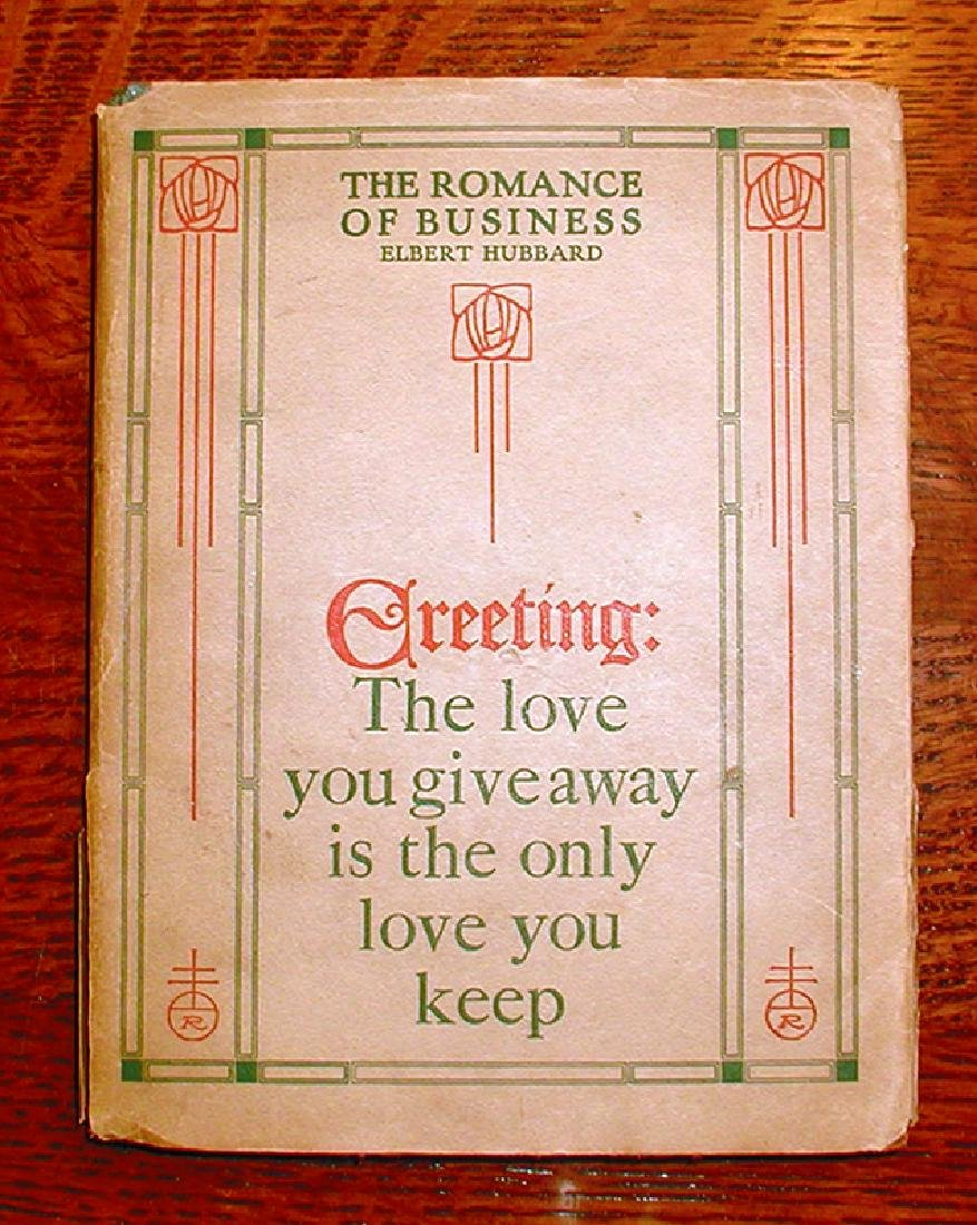 1st Ed. Romance of Business W/scarce Dust Jacket