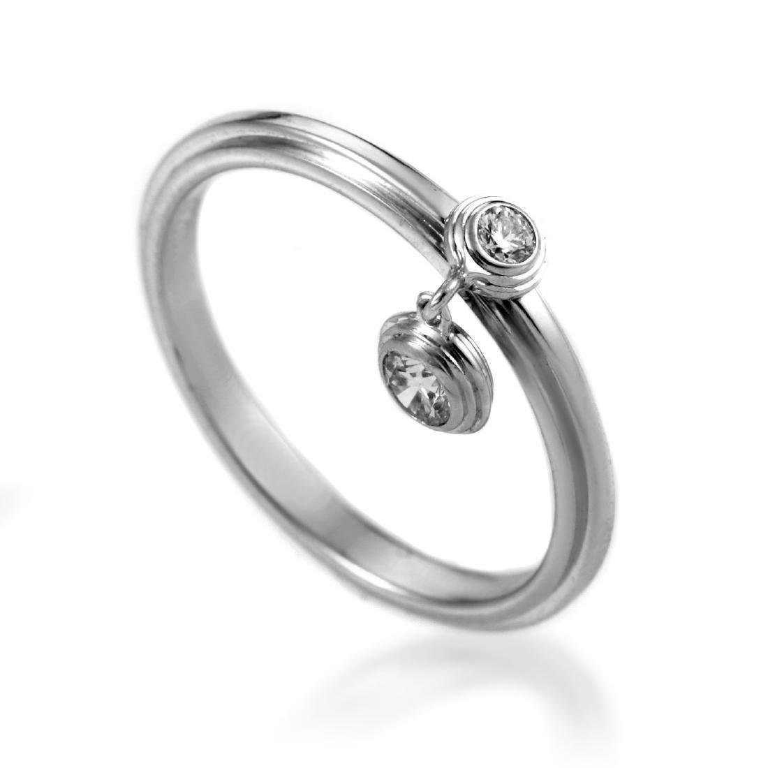 Cartier Diamants Légers 18K Gold Diamond Charm Ring