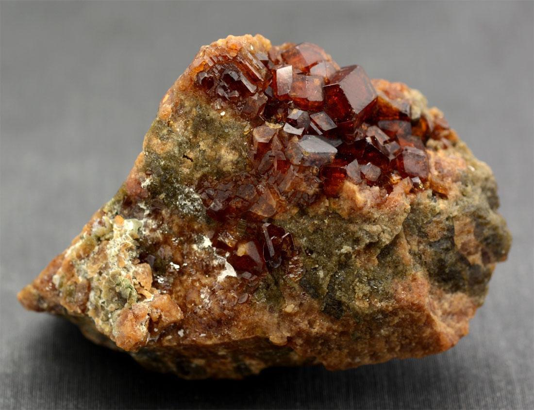 Rare Red Garnet Specimen~Afganistan