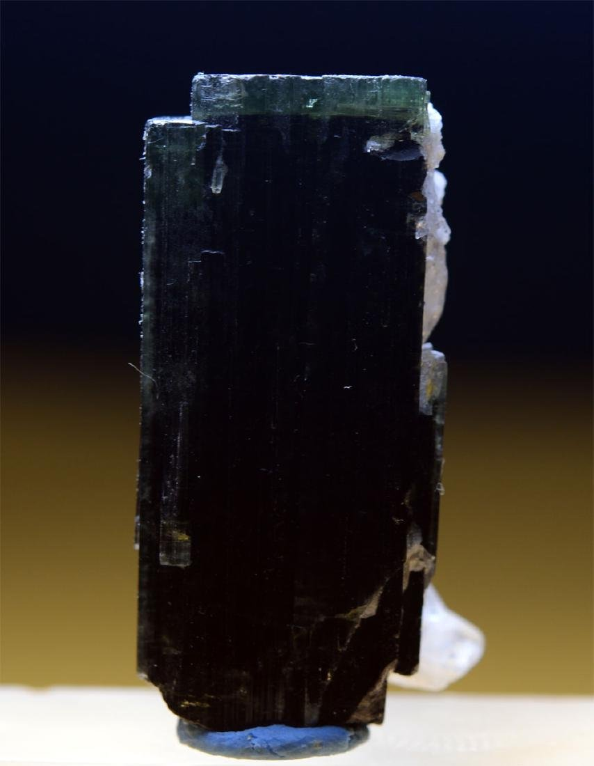 Beautiful Green Cap Tourmaline With Cleavelandite