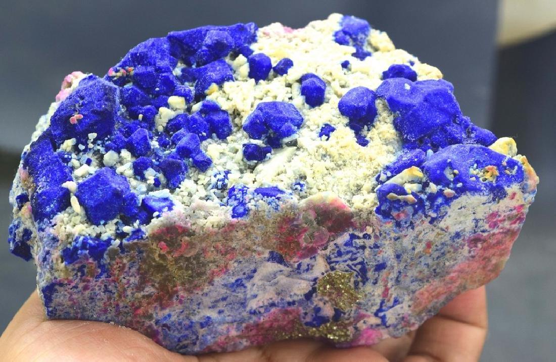 Fantastic Royal Blue Lazurite Specimen